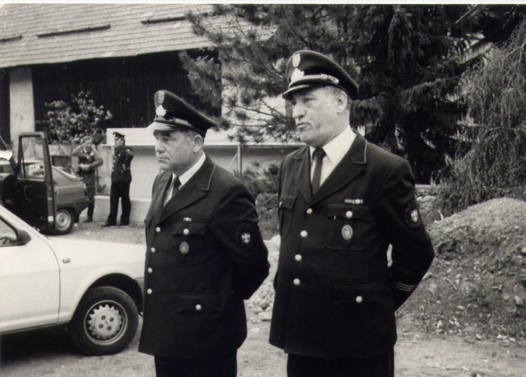 Initiatoren der Partnerschaft Theo Kemper und Karl Heinz Homburg