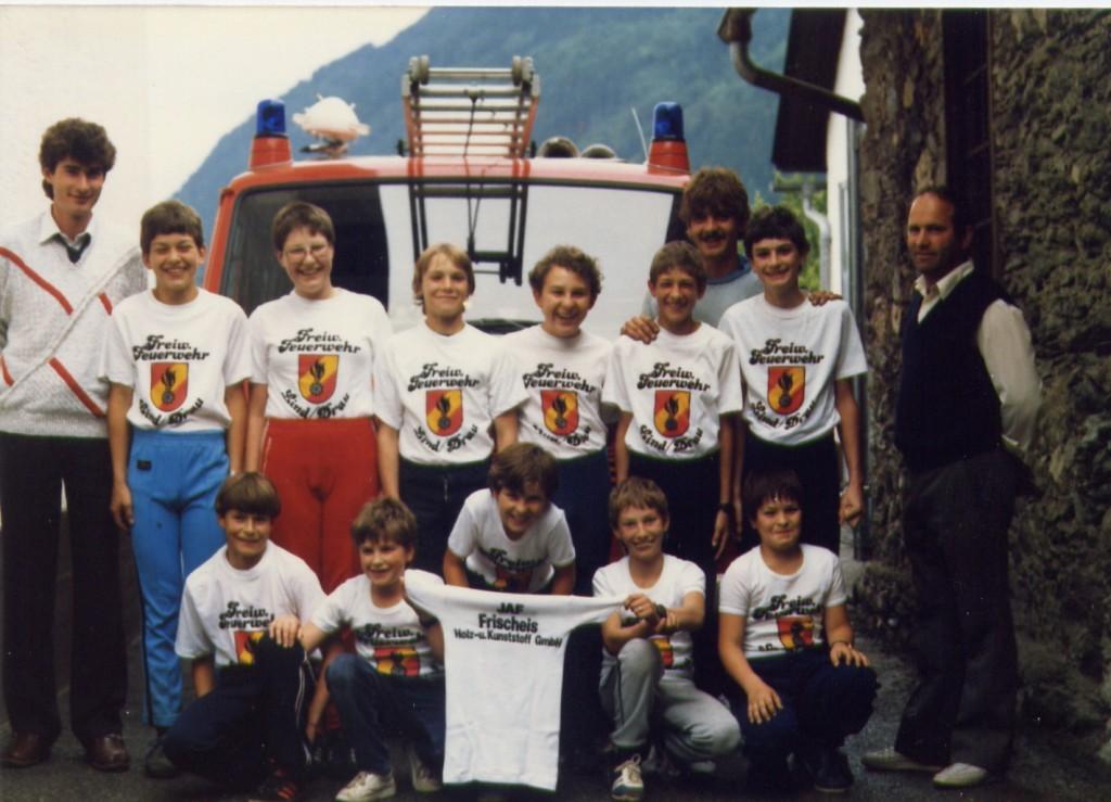 Jugendgruppe der Feuerwehr (1988)