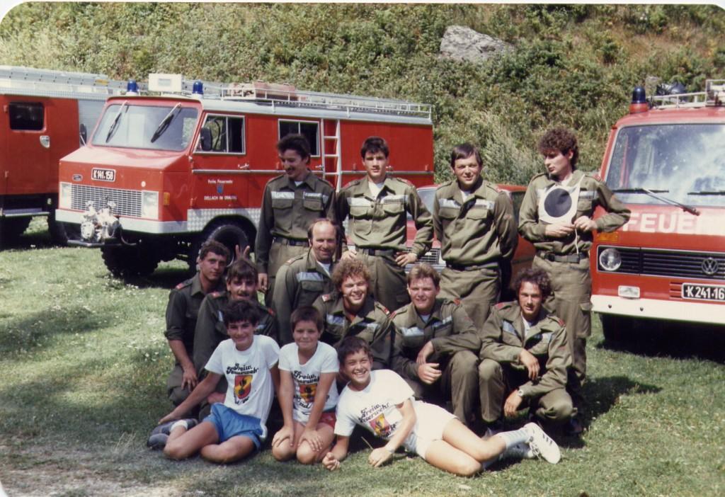 Leistungswettbewerb Stufe 1 in Winklern Ende der 80er Jahre
