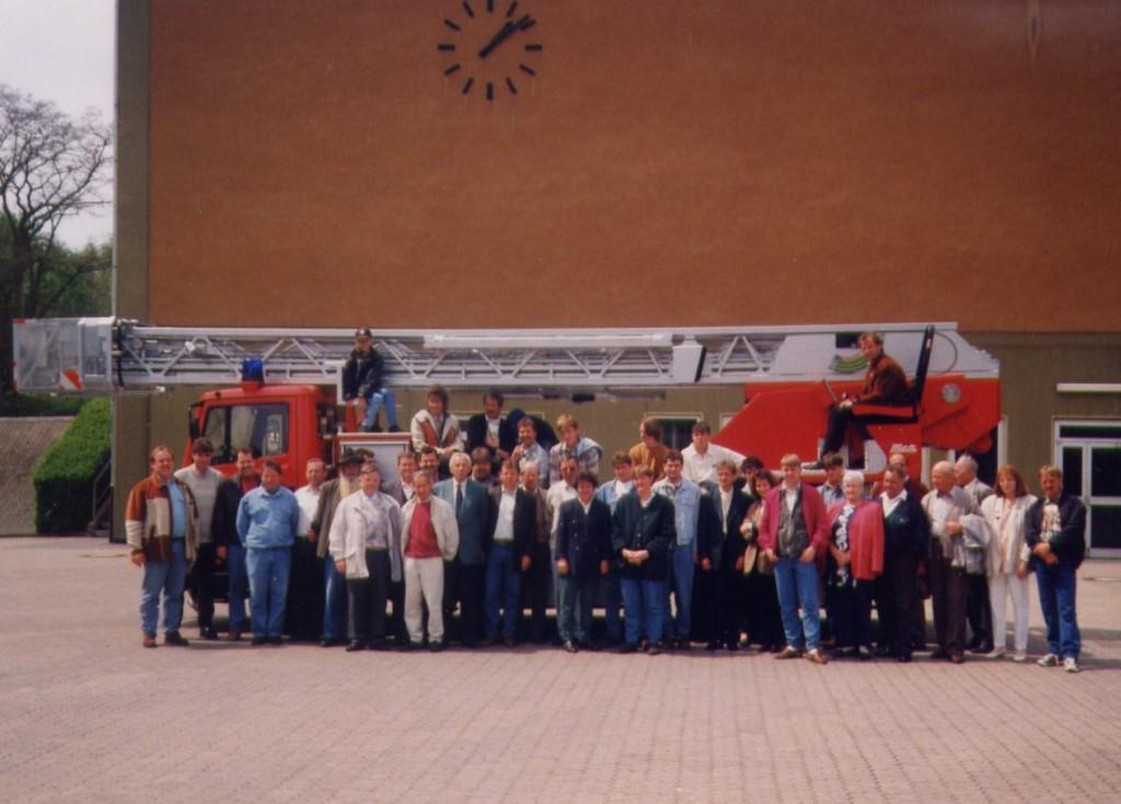 Partnerschaftsbesuch in Heckershausen 1994