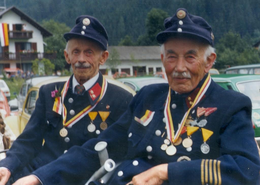 Johann Guggenbichler und Ambros Pfeifer