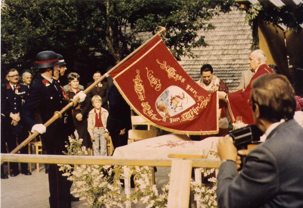 Segnung der Fahne